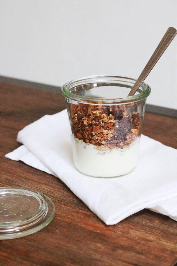 granola chocococo